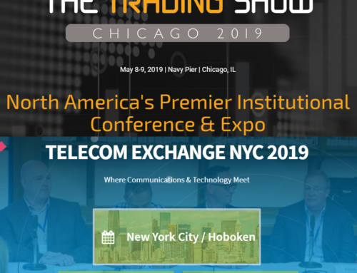 Find Anova Financial Networks at Trading Show Chicago & Telecom Exchange NYC in May!